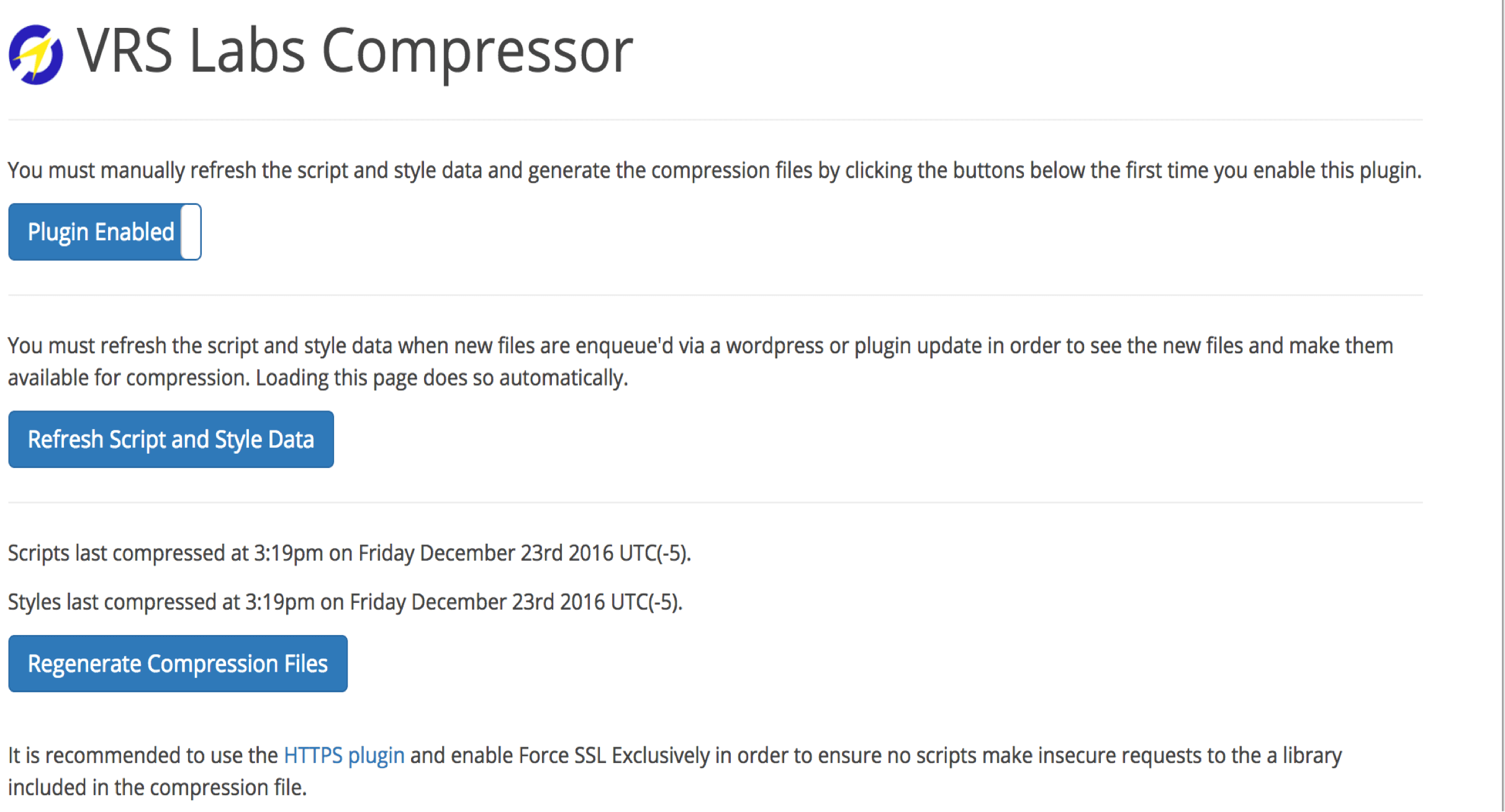 Wordpress Compressor